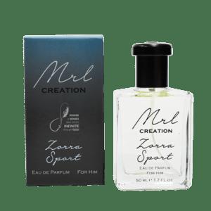 Mens Creations Perfume  – Zorra Sport