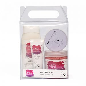 Toiletry Pack with Lotion