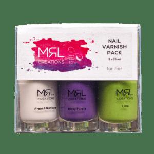 Nail Polish 3 Pack – Various colours