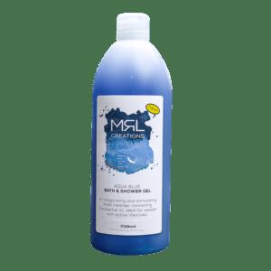MRL CREATIONS AQUA BLUE BATH & SHOWER GEL :750ml