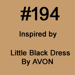 Inspired by LITTLE BLACK DRESS by AVON